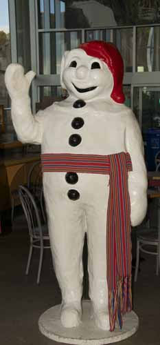 LE BONHOMME, MASCOT TO THE QUEBEC WINTER CARNIVAL