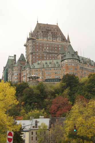 CHATEAU FRONTENAC, UPPER CITY, QUEBEC