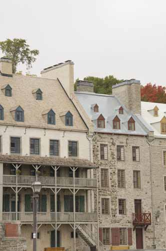 HISTORIC DISTRICT, LOWER CITY, QUEBEC