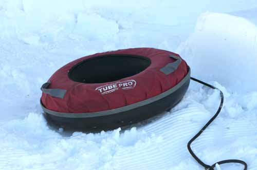 SNOW TUBE - BLACK LINE ATTACHES TO TOW